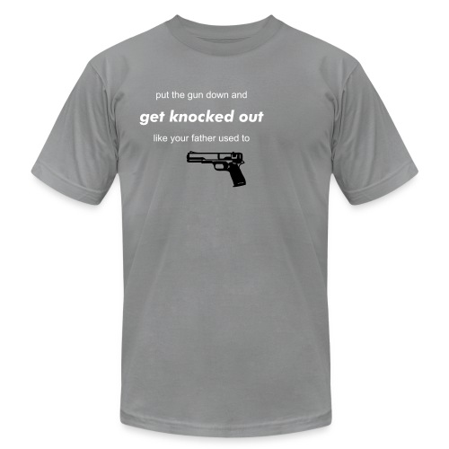 get knocked out - Men's  Jersey T-Shirt