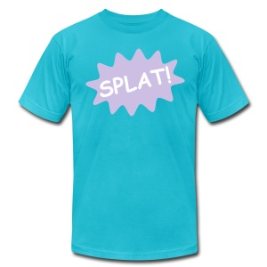 Splat  T-Shirt for Men - Men's T-Shirt by American Apparel