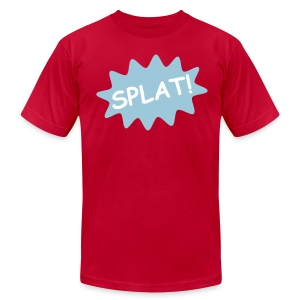 Splat  T-Shirt for Men - Men's Fine Jersey T-Shirt