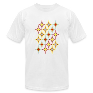 Starry Surprise  T-Shirt for Men - Men's T-Shirt by American Apparel