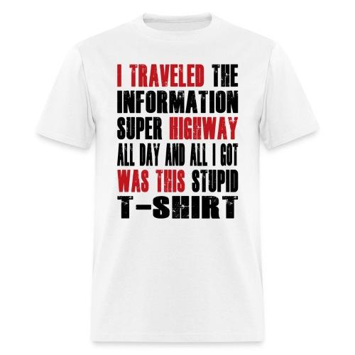 Superhighway Souvenir  - Men's T-Shirt