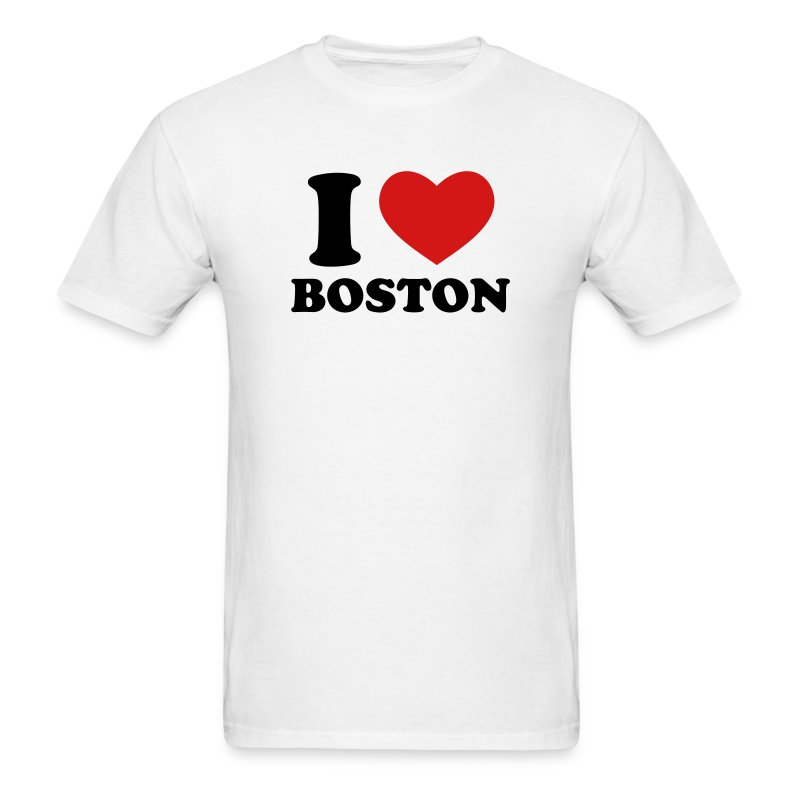 i love boston t shirt spreadshirt