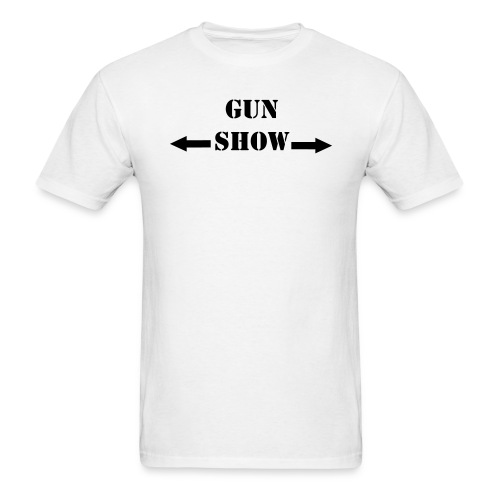 gun show - Men's T-Shirt