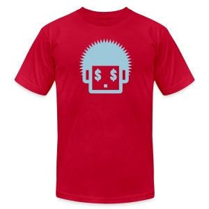Afro Tee  - Light Blue  for Men - Men's Fine Jersey T-Shirt