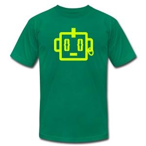 Mohawk Tee  - Neon Yellow  for Men - Men's Fine Jersey T-Shirt