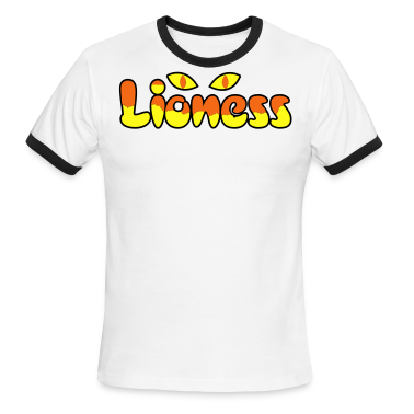 Chocolate/tan lioness type awesome with big cats eyes T-Shirts