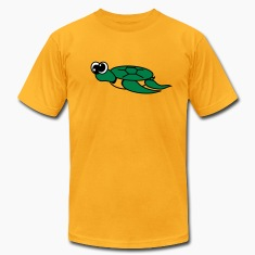 Gold Timmy the Turtle  By VOM Design - virtualONmars T-Shirts