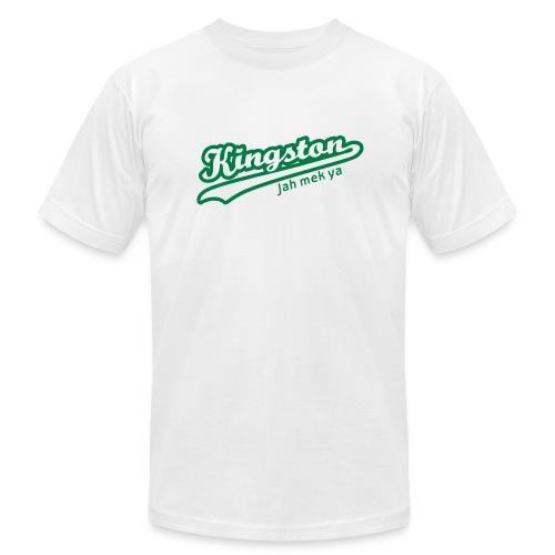 Kingston Jah Mek Ya - Men's Fine Jersey T-Shirt