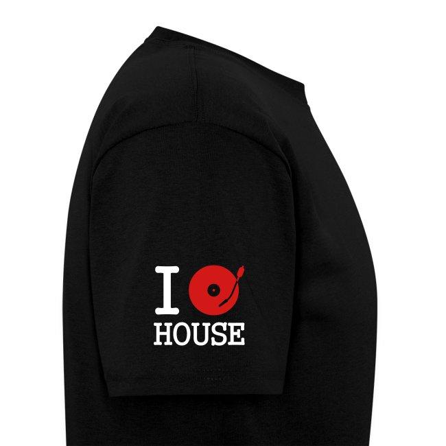 I Spin House (Black T)