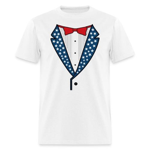 Star Spangled Tuxedo - Mens - Men's T-Shirt