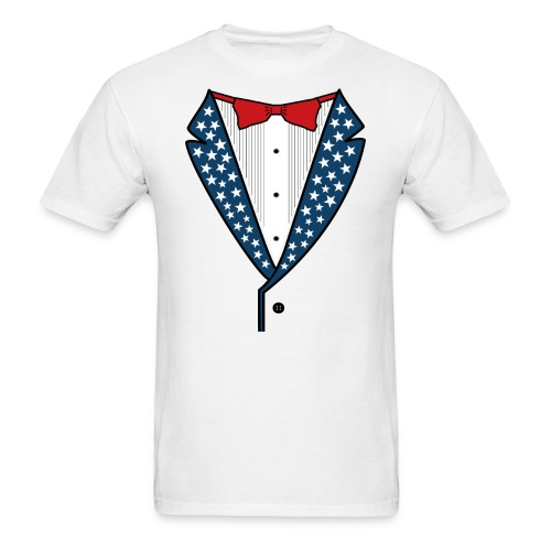 Star Spangled Tuxedo - Mens - Men's T-Shirt