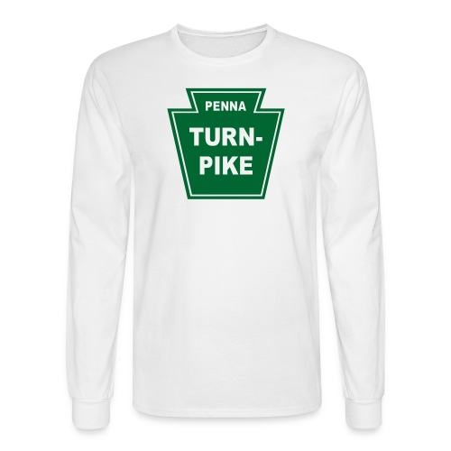 Pennsylvania Turnpike - Men's Long Sleeve T-Shirt