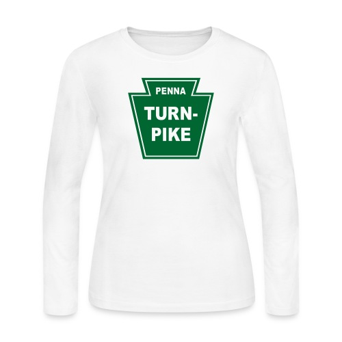 Pennsylvania Turnpike - Women's Long Sleeve Jersey T-Shirt