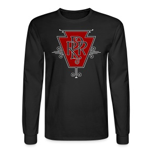 Vintage Pennsylvania Railroad Logo - Men's Long Sleeve T-Shirt