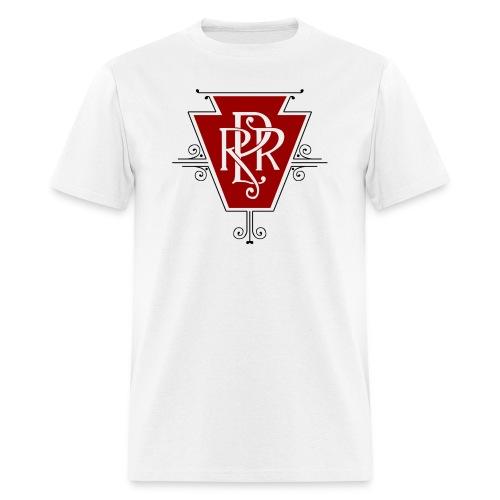 Vintage Pennsylvania Railroad Logo - Men's T-Shirt
