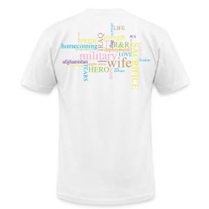 Military Words - Men's Fine Jersey T-Shirt