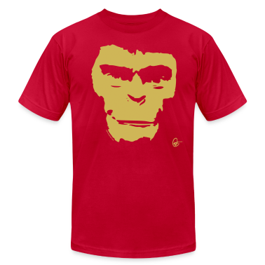 Planet of the Apes Painting T-Shirts