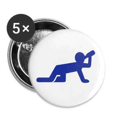White Alcohol - Party Buttons