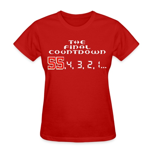 Commencing Matt Capps' save... - Women's T-Shirt