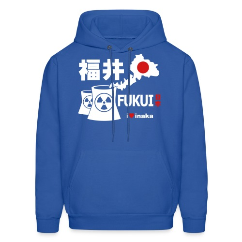 Fukui: i love inaka - Men's Hoodie