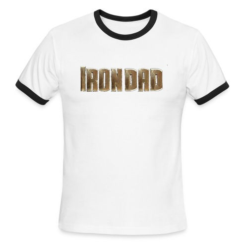 Iron Dad Ring T - Men's Ringer T-Shirt