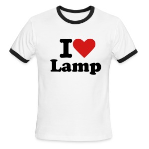 I love lamp - Men's Ringer T-Shirt