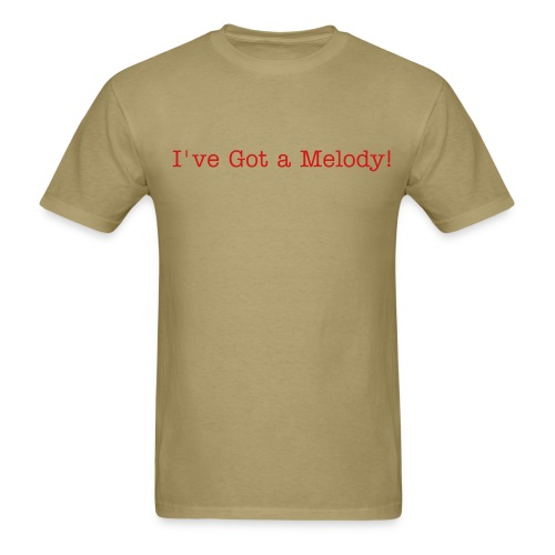 BA I've got a melody - Men's T-Shirt