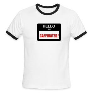 Caffinated - Men's Ringer T-Shirt