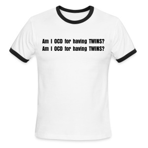 Twin OCD - Men's Ringer T-Shirt