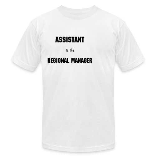 Assistant to the Region Manager - Men's Fine Jersey T-Shirt