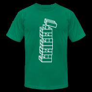 T-Shirts ~ Men's T-Shirt by American Apparel ~ Mens - Block Fall