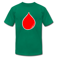 T-Shirts ~ Men's T-Shirt by American Apparel ~ Mens - Balloon Inflated