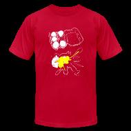 T-Shirts ~ Men's T-Shirt by American Apparel ~ Mens  - 5 Eggs, 1 Mess