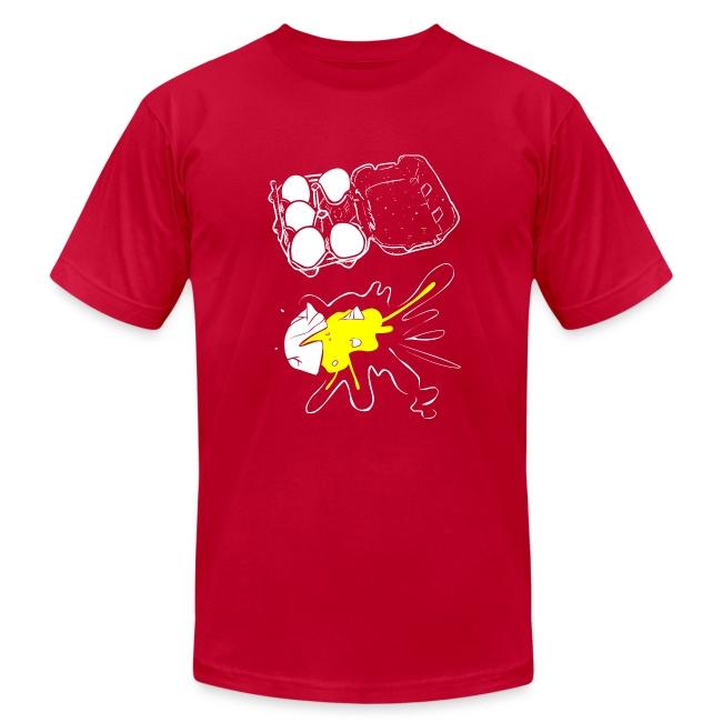 T-Shirt War Egg Carton Splat