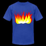 T-Shirts ~ Men's T-Shirt by American Apparel ~ Men - Fire