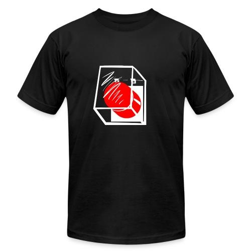 T-Shirt War Button - Men's Fine Jersey T-Shirt