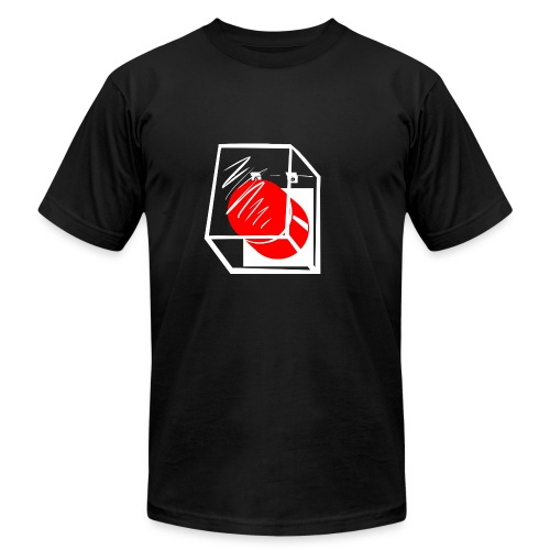 Mens - Encased Button - Men's  Jersey T-Shirt