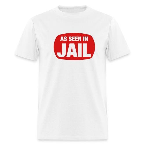 WCP as seen in jail - Men's T-Shirt