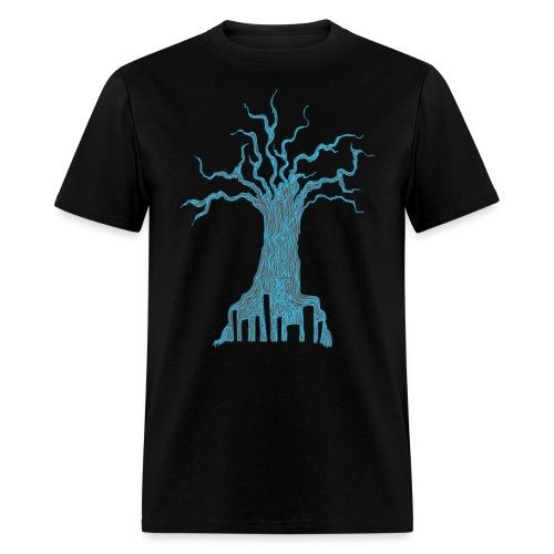 Radioactive Tree - Men's T-Shirt
