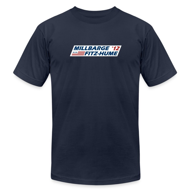 Millbarge - Fitz-Hume 2012 - Men's Fine Jersey T-Shirt