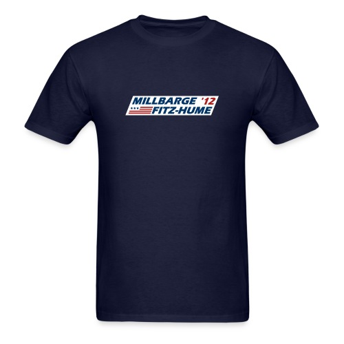 Millbarge - Fitz-Hume 2012 - Men's T-Shirt