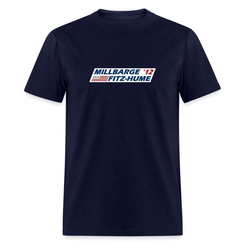 Millbarge - Fitz-Hume 2012 - Men's T-Shirt