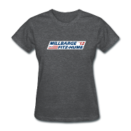 T-Shirts ~ Women's T-Shirt ~ Millbarge - Fitz-Hume 2012
