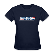 Women's T-Shirts ~ Women's T-Shirt ~ Millbarge - Fitz-Hume 2012