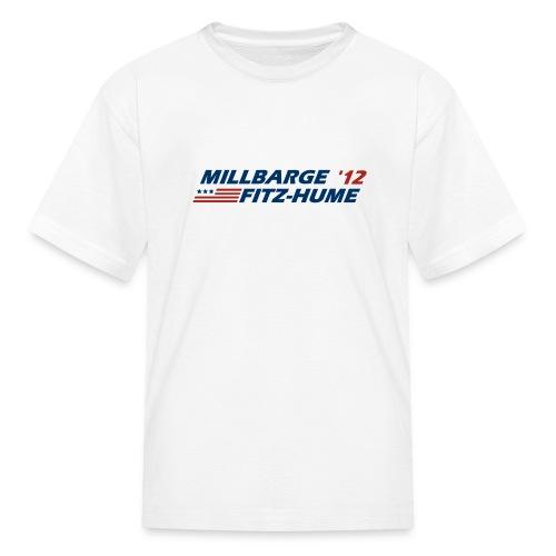Millbarge - Fitz-Hume 2012 - Kids' T-Shirt