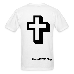 WCP With Cross Power - Men's T-Shirt