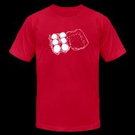 T-Shirts ~ Men's T-Shirt by American Apparel ~ Mens- Eggs