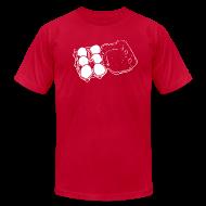 T-Shirts ~ Men's T-Shirt by American Apparel ~ Mens - 6 Eggs