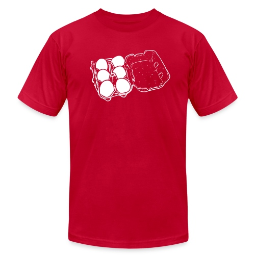 Mens - 6 Eggs - Men's Fine Jersey T-Shirt