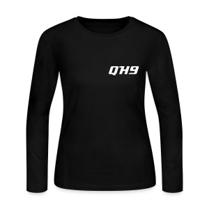 QH9 Ladies Long Sleeve Jersey Tee - Women's Long Sleeve Jersey T-Shirt